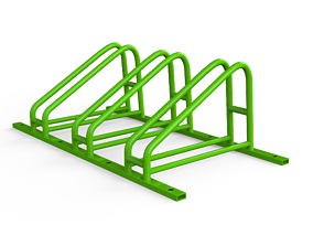 Bicycle Parking - Profi 3D asset