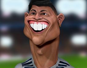 Cristiano Ronaldo 3D Caricature