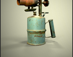 Old Blowtorch 3D model