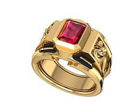 3D printable model 88 Lucky Croba Gold Ring