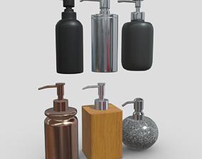 Soap Dispenser Pack 3D asset