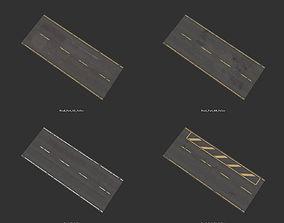 Street Builder Set 3D asset