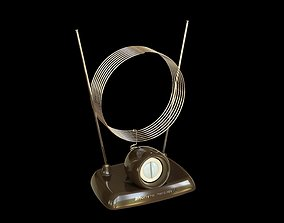 3D model Old TV Antenna
