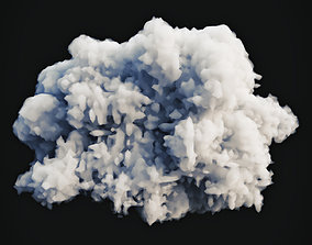 Smoke Explosion 4 3D model