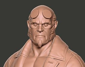 3D printable model Hellboy Bust 3dbust