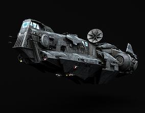 Star Wars Galactic Empire Thranta class corvette 3D model