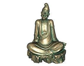 Buddhist Monk 3D printable model god