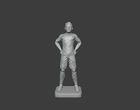 Erling Haaland dortmund 3D printable model