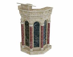 Pulpit 2 3D asset