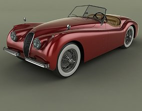 Jaguar XK120 Roadster 3D