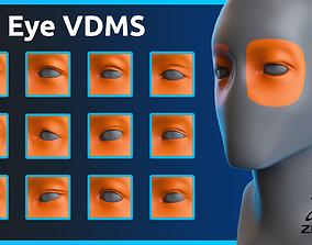 Zbrush - Eye - VDM Brushes 3D