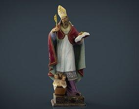 Saint George 3D model game-ready