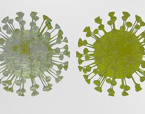 Corona viruses - Animated 3D Model Collection