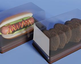3D model Dessert Box