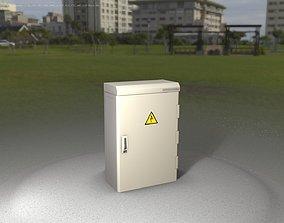 Electrical Distribution Cabinet 49 3D asset