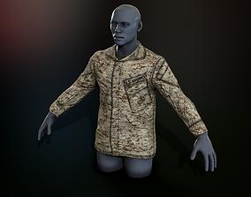 3D asset USMC Blouse