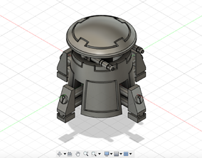 Tau sentry turret - plasma rifle 3D print model
