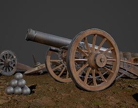 Cannon 3D turret