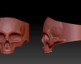 ring skull rings 3D print model