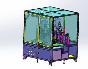 3D model Flexible circuit board thermoforming machine