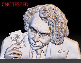 Joker STL model bas relief - tested STL file for cnc 1