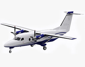 Cessna 408 SkyCourier 3D model