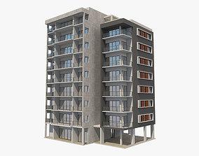 Apartment Building 3 3D model