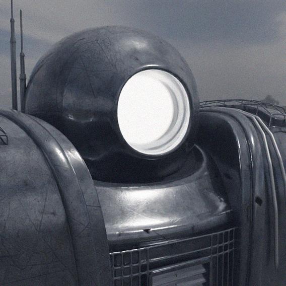 Metal iron robot