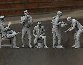 glove German soldiers 3D printable model