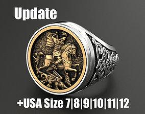 Ring St George 3D printable model
