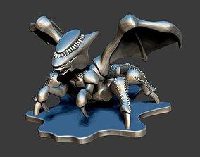 3D printable model Winged Alien