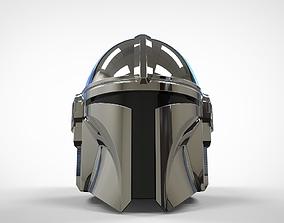The Mandalorian Helmet 3d print model UPDATED cosplayprops