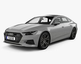 Audi A7 Sportback 2018 3D