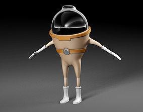 3D character Alien
