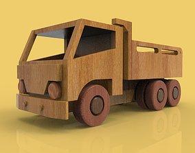 WOODEN TRUCK 3D wood