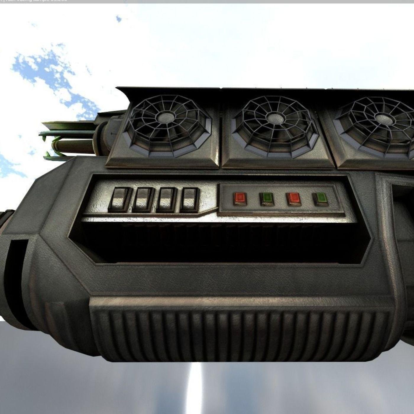 Multi-Gun (Sci-Fi-Weapon-Concept)