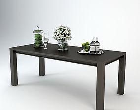 Eichholtz Dining Table Devon 3D model realistic