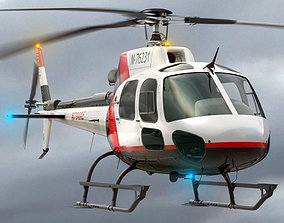 Eurocopter AS 350 Private 3D