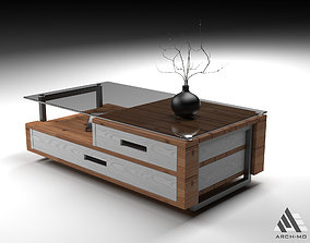 Coffee table 03- furniture 3D model