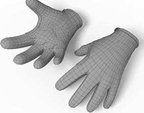 Glove Troy Lee 3D model
