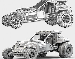 3D Military Buggy 03