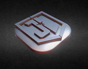 Justice League Flat Keycap 3D printable model
