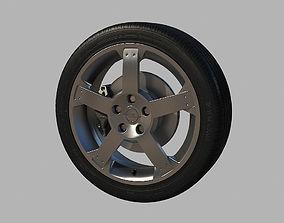 3D wheel Opel Wheel