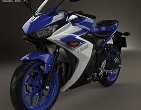 Yamaha YZF-R3 2015 3D