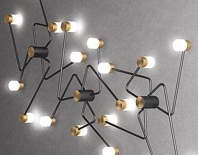 3D CONSTELLATION wall light