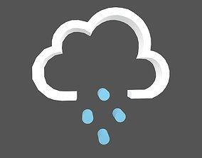 Weather Symbol v14 001 3D model