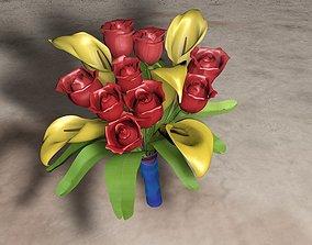 3D print model Flovers bouquet