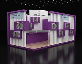 3D 6x3Mtr Exhibition stand