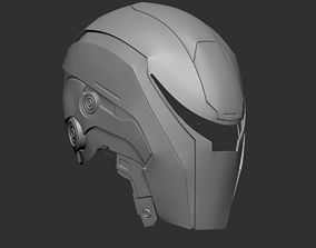Helmet Drone EM-208 from RoboCop 2014 3D print model