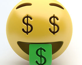 EMOJI MONEY 3D asset